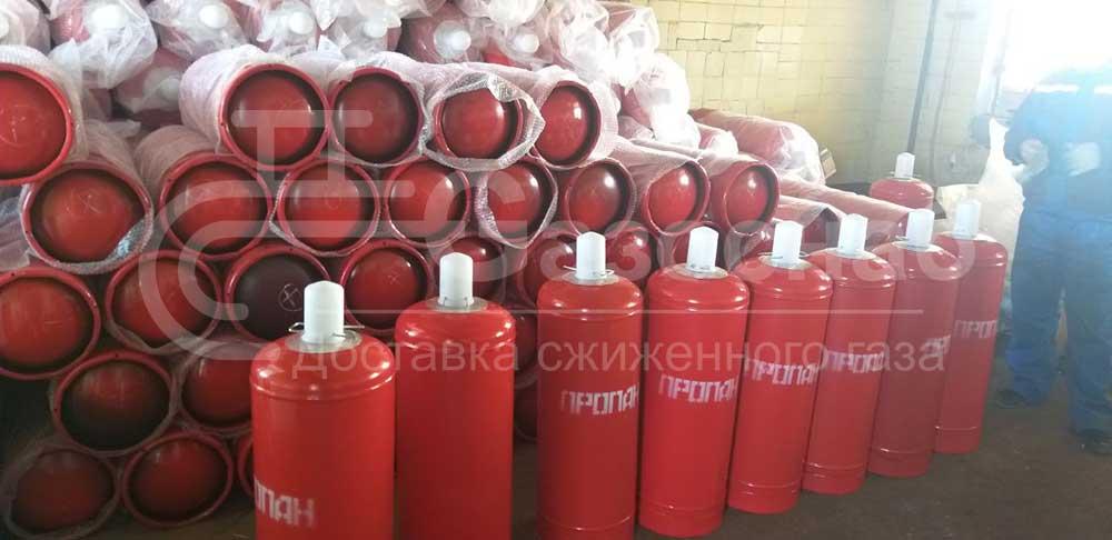 Наружная установка газовых баллонов «ГАЗОСНАБ»