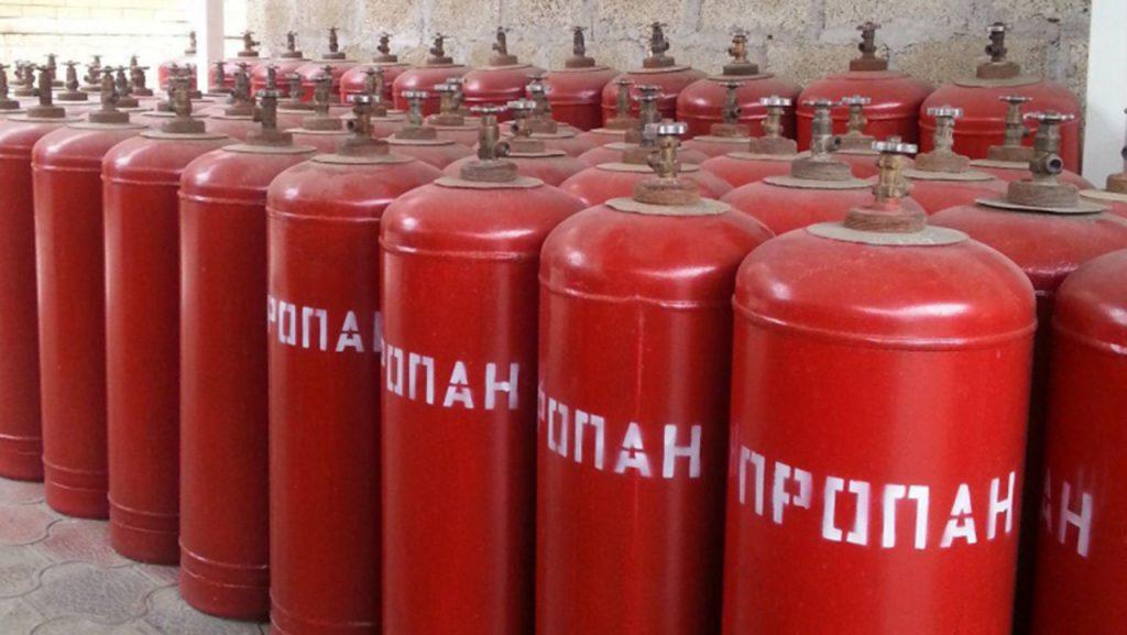 Газ пропан в баллонах «ГАЗОСНАБ»