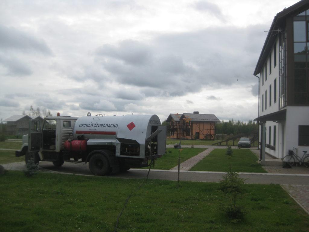 Заправка газгольдера – как часто нужно производить дозаправку? «ГАЗОСНАБ»