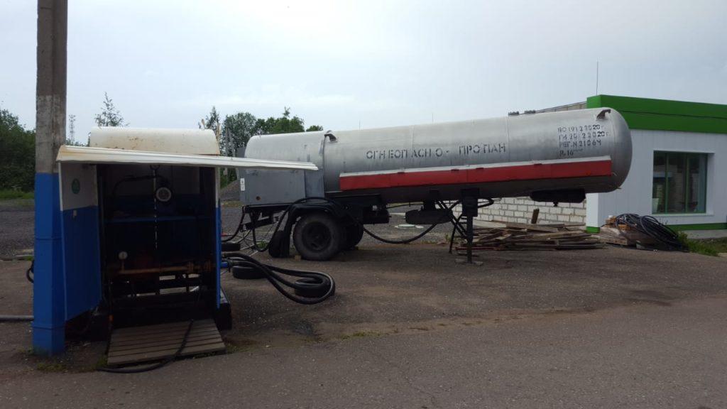 Доставка сжиженного газа на объект заказчика «ГАЗОСНАБ»