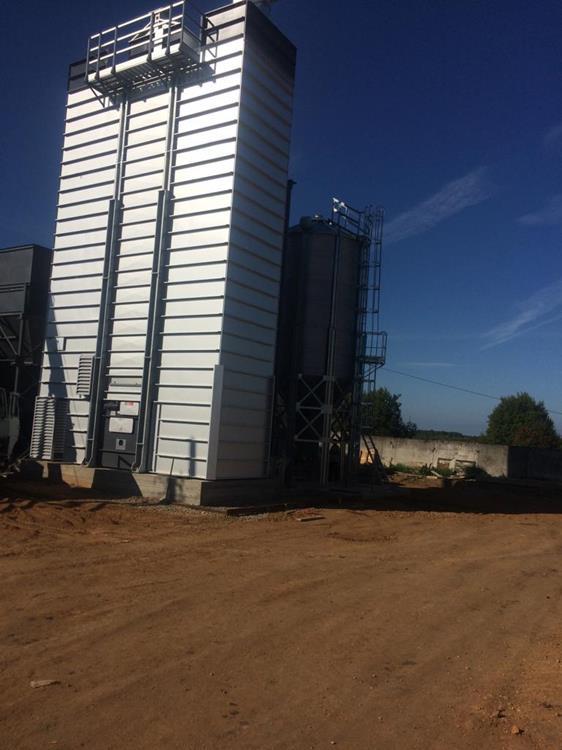 Заправка зерносушильного комплекса «ГАЗОСНАБ» 1