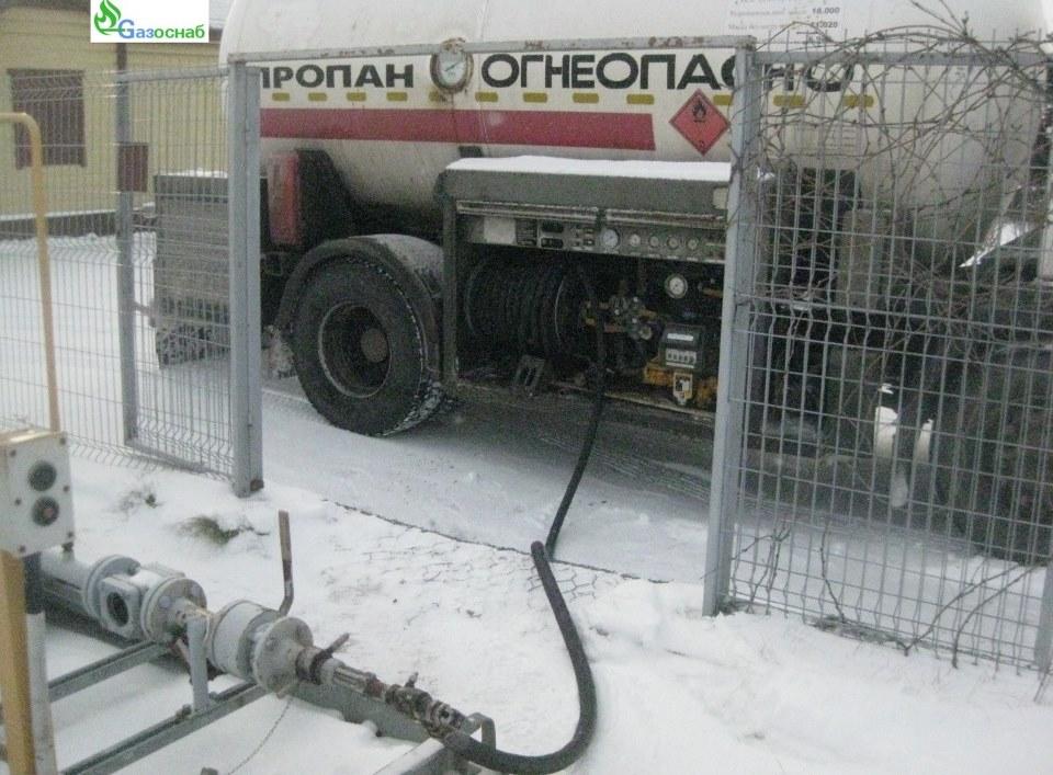 Доставка газа и заправка газгольдера в Иваново «ГАЗОСНАБ»