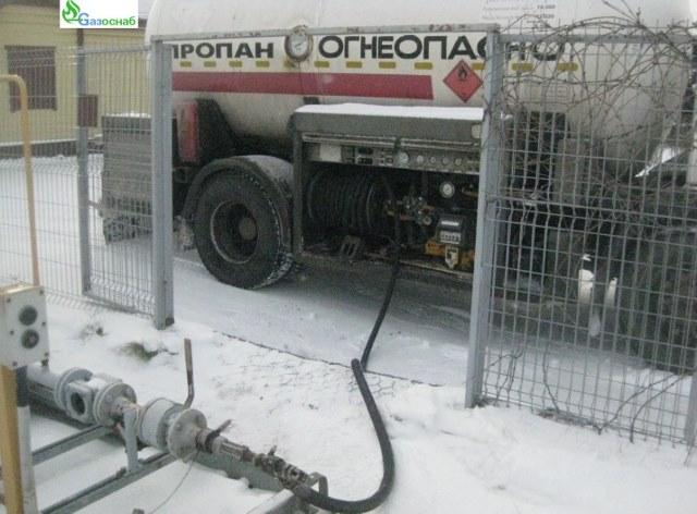 Доставка газа и заправка газгольдера в Ярославле «ГАЗОСНАБ»