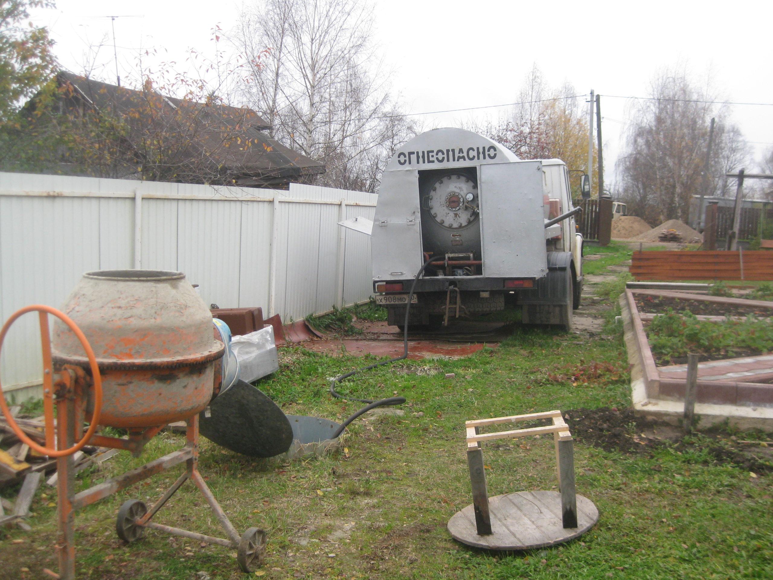 Технические нюансы при заправке газгольдера