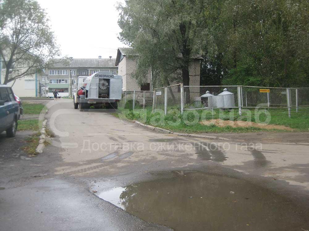 Доставка газа и заправка газгольдера в Ярославской области, услуги и цены «ГАЗОСНАБ» 1
