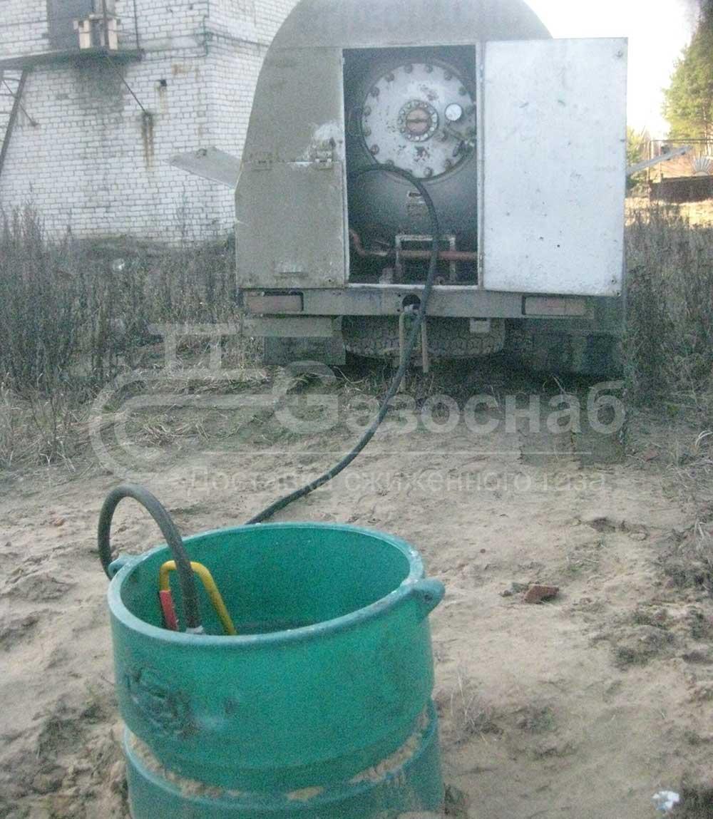 Газ для газгольдера цена