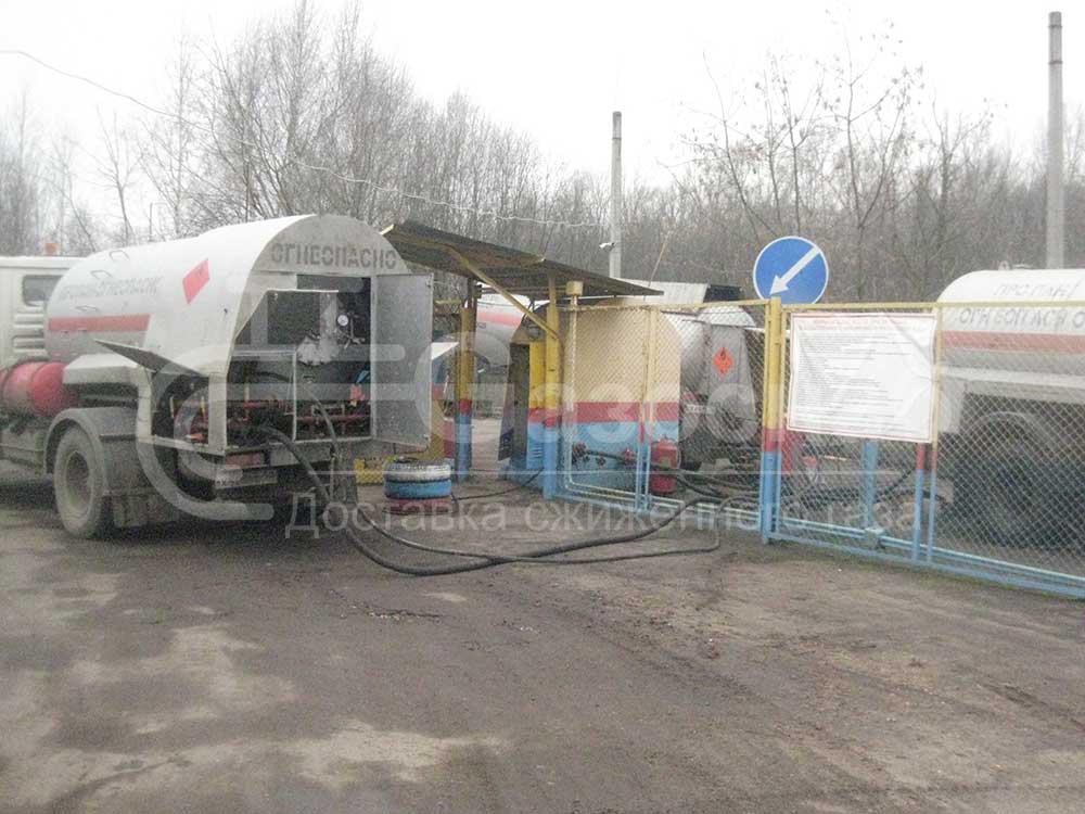 Купить газгольдер в Ярославле и Ярославской области, цены «ГАЗОСНАБ» 3