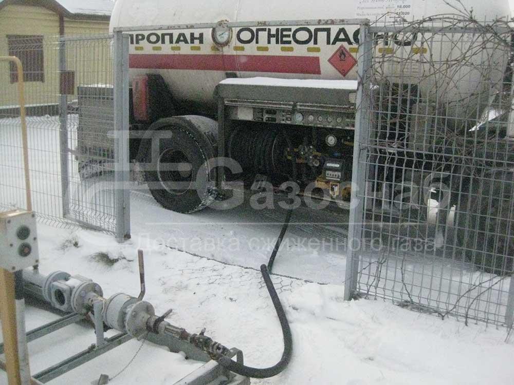 Купить газ для газгольдера