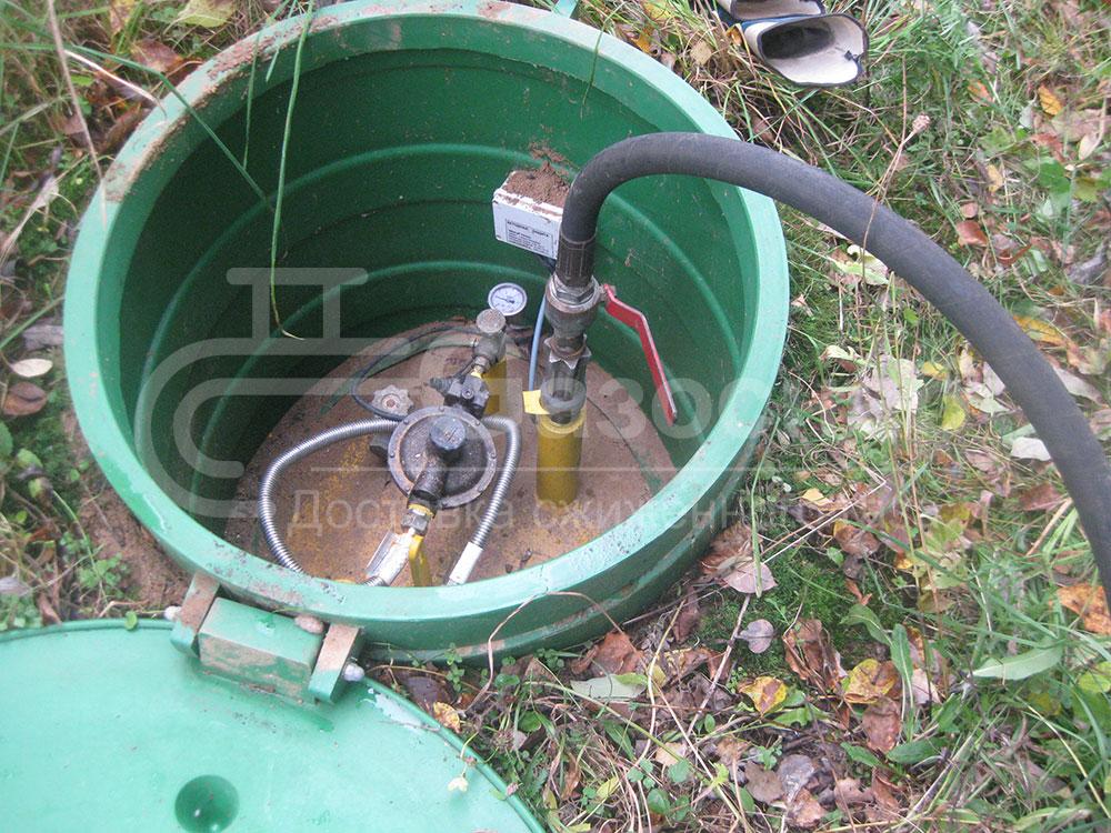 Доставка газа цена 2