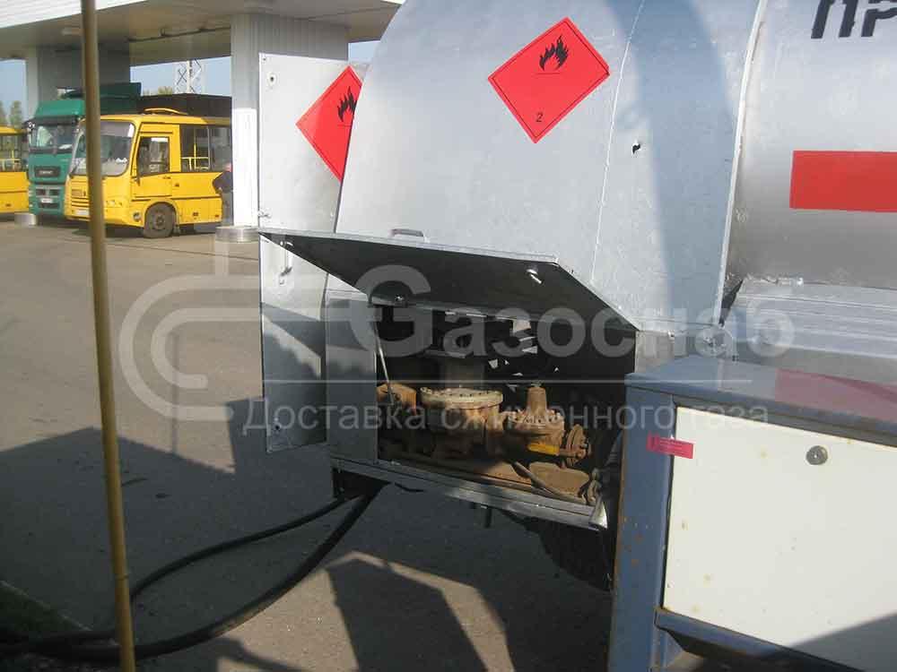 Цена в Ярославской области на заправку газгольдера газом «ГАЗОСНАБ» 2