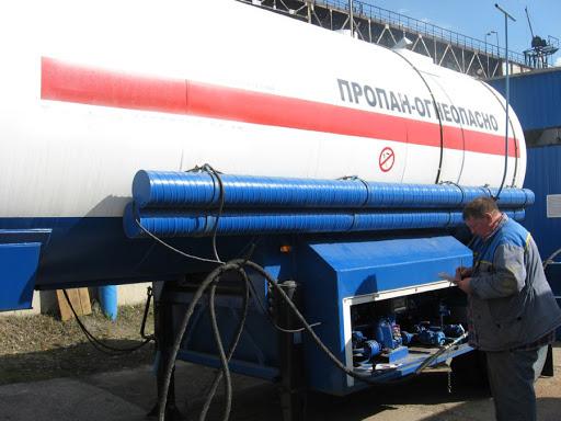 Заправка газом в Череповце