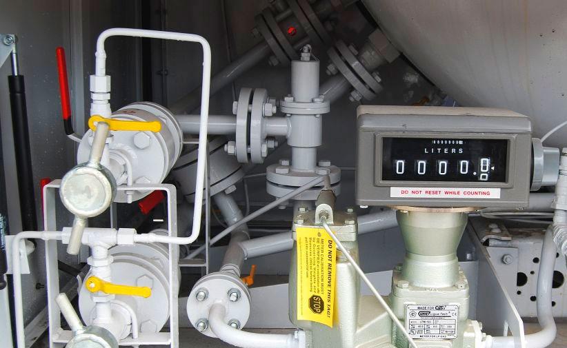 Газгольдер какой расход газа